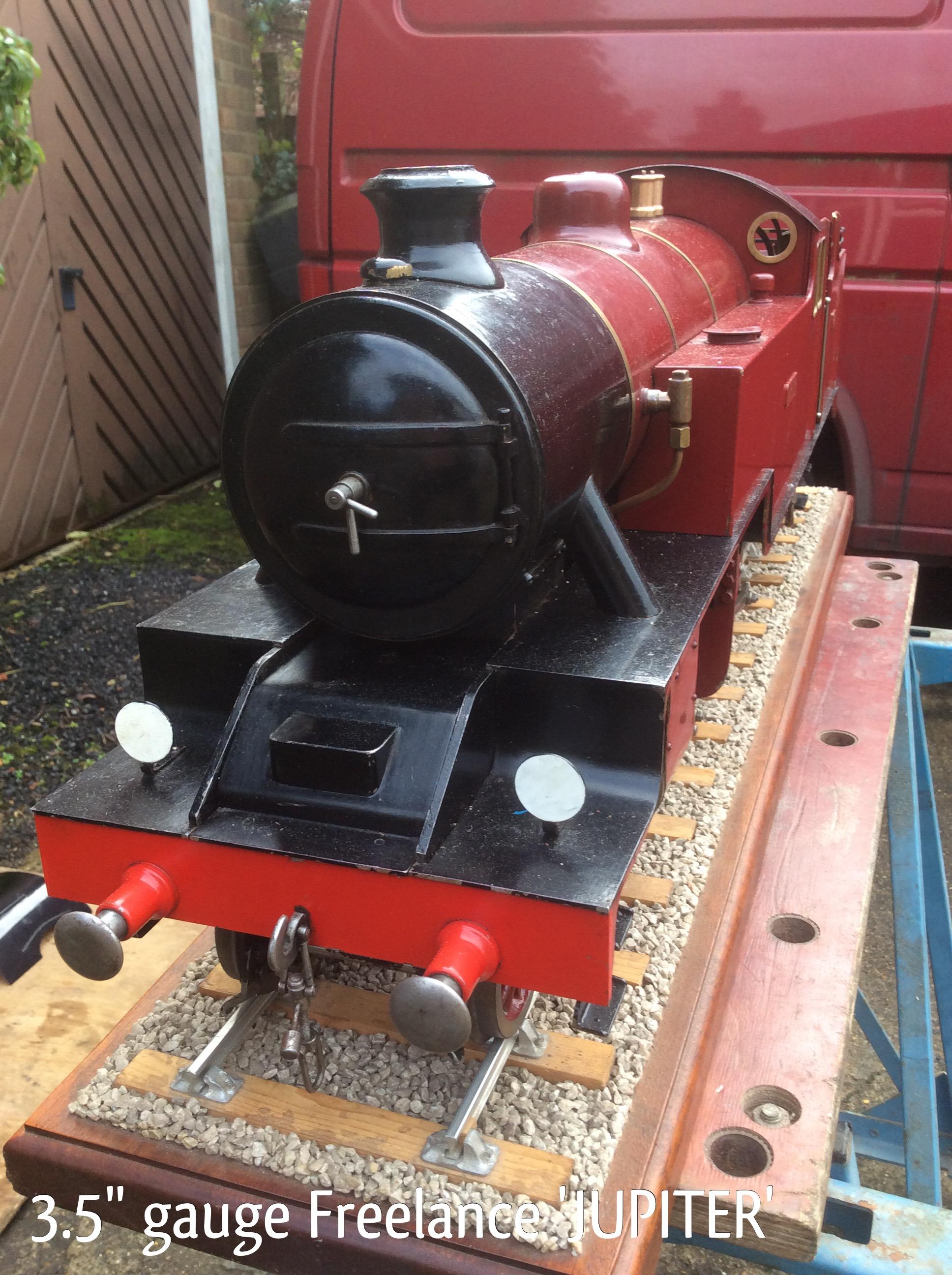 3 5″ gauge Freelance 2-6-4 Tank locomotive 'JUPITER' » View